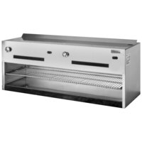 Garland IRCMA-48 48 inch Regal Series Countertop Cheese Melter - 40,000 BTU