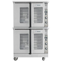 Garland MCO-ES-20-S Double Deck Standard Depth Full Size Electric Convection Oven - 20.8 kW