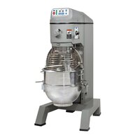 Globe SP62P Gear Driven 60 Qt. Commercial Planetary Floor Pizza Mixer - 3 hp