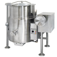 Cleveland KGL-25-T 25 Gallon Tilting 2/3 Steam Jacketed Gas Kettle - 90,000 BTU