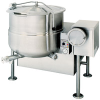 Cleveland KGL-60-T 60 Gallon Tilting 2/3 Steam Jacketed Gas Kettle - 190,000 BTU