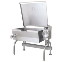 Cleveland SEL-40-T1 40 Gallon PowerPan Electric Open Base Tilt Skillet - 18 kW