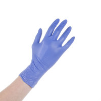 Noble Products Nitrile 4 Mil Thick Low Dermatitis Textured Gloves - Small