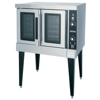 Hobart HGC501 Single Deck Full Size Gas Convection Oven - 50,000 BTU