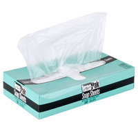 10 3/4 inch x 10 inch Plastic Deli Wrap and Bakery Wrap
