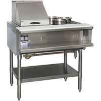 Eagle Group SHT2 Steam Table Two Pan - All Stainless Steel - Open Well