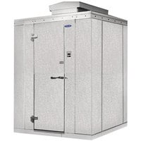 Nor-Lake Kold Locker 10' x 12' x 7' 7 inch Outdoor Walk-In Freezer with Floor