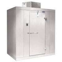 """Nor-Lake KLB7488-C Kold Locker 8' x 8' x 7' 4"""" Indoor Walk-In Cooler without Floor"""