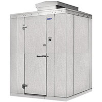 Nor-Lake Kold Locker 6' x 8' x 6' 7 inch Outdoor Walk-In Freezer with Floor