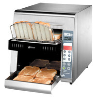 Star QCSe2-800 Conveyor Toaster with 1 1/2 inch Opening and Electronic Controls