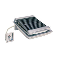 Wells B-446 20 inch Built-In Electric Charbroiler with One Control Knob - 5400W