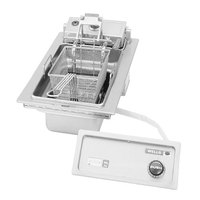 Wells F-586 15 lb. Built-In Electric Countertop Autolift Fryer - 5750W
