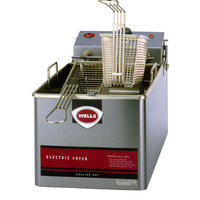 Wells LLF-14 14 lb. Nickel Plated Electric Countertop Fryer