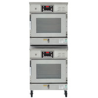 Winston Industries CAC507/CAC507 Stacked CVAP Cook & Hold Oven with Fan - 14 Cu. Ft.