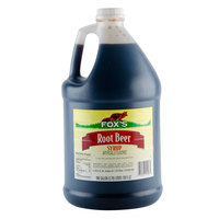 Fox's Root Beer Syrup - (4) 1 Gallon Containers / Case