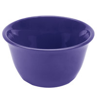 7 oz. Purple Smooth Melamine Bouillon Cup - 12/Case