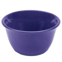 Thunder Group CR303BU 7 oz. Purple Smooth Melamine Bouillon Cup - 12/Case