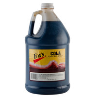 Fox's Cola Syrup - (4) 1 Gallon Containers / Case
