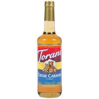 Torani 750 mL Creme Caramel Flavoring Syrup
