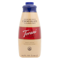Torani 64 oz. Sugar Free White Chocolate Flavoring Sauce