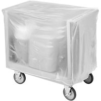 Cambro TDC30C Vinyl Tray and Dish Cart Cover for TDC30