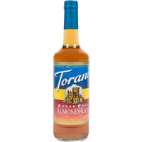 Torani 750 mL Sugar Free Almond Roca Flavoring Syrup