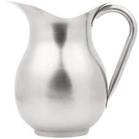 Vollrath 465312 3 Qt. Stainless Steel Water Pitcher
