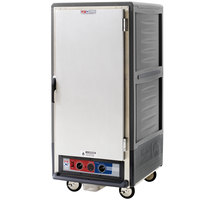 Metro C537-MFS-U-GY C5 3 Series Heated Holding and Proofing Cabinet with Solid Door - Gray