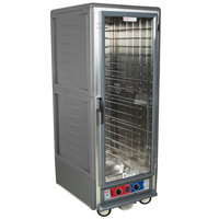 Metro C539-MFC-L-GY C5 3 Series Heated Holding and Proofing Cabinet with Clear Door - Gray