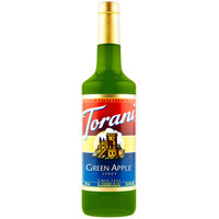 Torani 750 mL Green Apple Flavoring Syrup