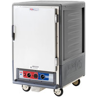 Metro C535-MFS-4-GY C5 3 Series Heated Holding and Proofing Cabinet with Solid Door - Gray