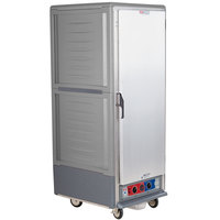 Metro C539-MFS-U-GY C5 3 Series Heated Holding and Proofing Cabinet with Solid Door - Gray