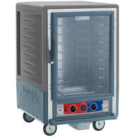 Metro C535-MFC-L-GY C5 3 Series Heated Holding and Proofing Cabinet with Clear Door - Gray
