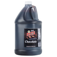 Fox's Premium Dark Chocolate Syrup - (4) 1 Gallon Containers / Case
