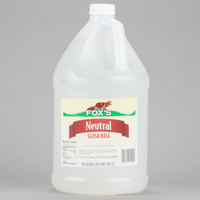 Fox's Neutral Slush Syrup - 1 Gallon Container