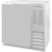 Beverage Air BB36-1-S 36 inch Solid Door Back Bar Refrigerator - Stainless Steel