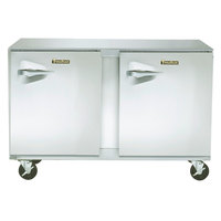 Traulsen ULT60-RR-SB 60 inch Undercounter Freezer with Right Hinged Doors and Stainless Steel Back - 16.7 Cu. Ft.