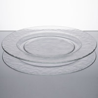 10 Strawberry Street HAG-1 Hammered Glass 11 inch Plate   - 18/Case