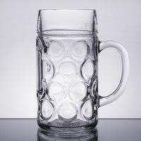Libbey 12030021 33.875 oz. (1 liter) Oktoberfest Beer Mug - 6/Case