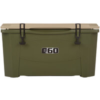 Olive Green 60 Qt. Extreme Outdoor Grizzly Merchandiser / Cooler