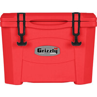 Red 16 Qt. Extreme Outdoor Grizzly Merchandiser / Cooler