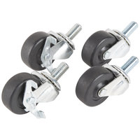 Traulsen CASTER-SET2IN 2 1/2 inch Swivel Casters for 27 inch, 32 inch, and 48 inch U-Series Refrigerators and Freezers - 4 / Set
