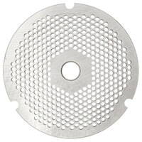 Hobart 3246PLT-1/8C #32 1/8 inch Carbon Steel Grinder Plate for 4146, 4246, 4732, MG2032, and MG1532 Meat Grinders / Choppers