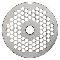 Hobart 12PLT-1/4C #12 1/4 inch Carbon Steel Grinder Plate for 4812 Meat Choppers and Chopping Ends