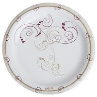 Dart Solo HWP9-J8001 Symphony 9 inch Heavy Weight Paper Plate - 500/Case