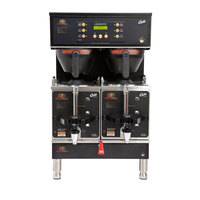 Curtis GEMTIF10B1000 G3 Gemini IntelliFresh Twin 3 Gallon Coffee Satellite Brewer - 220V