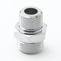 T&S 000545-25 Plated 3/8 inch NPT Male x 3/4-14 UNS Male Adapter
