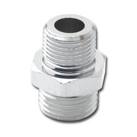 T&S 000554-25 Plated 5/8-27 UNS Female x 55/64-27 UNS Male Adapter