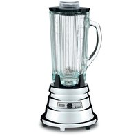 Waring BB900G 0.5 HP 2 Speed Chrome Commercial Bar Blender with 40 oz. Glass Container - 120V