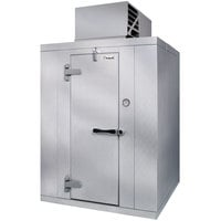 Kolpak P7-810-CT 8' x 10' x 7' 6 inch Indoor Walk-In Cooler with Aluminum Floor